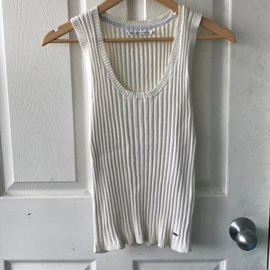 Ribbed Classic Vintage Tommy Hilfiger Tanktop